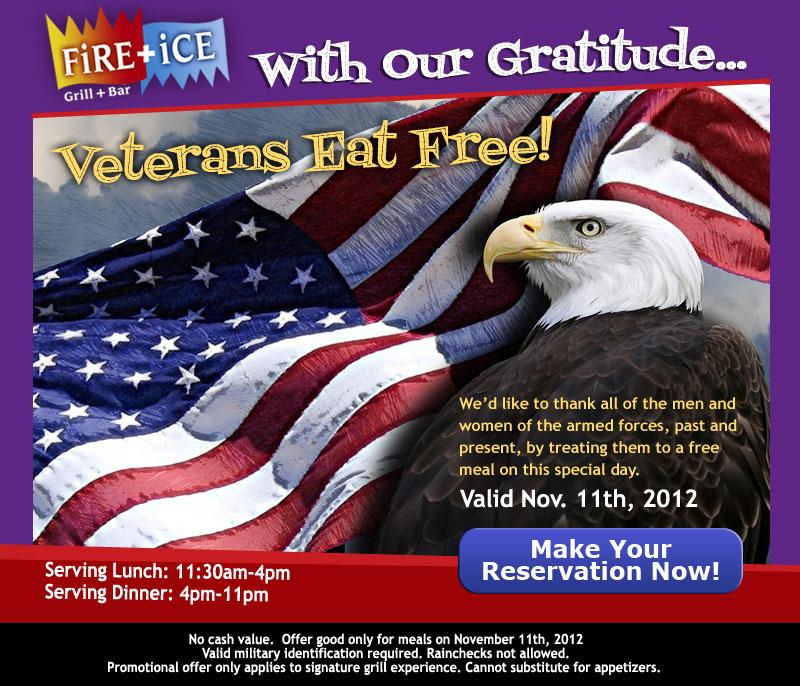 CaptureCode - FiRE+iCE - Veterans Eat Free Image